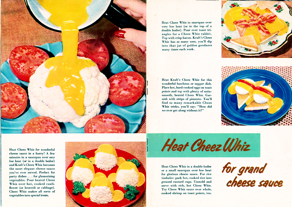 New! Cheez Whiz Pages 8-9