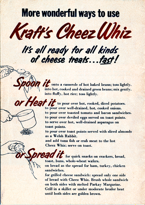 New! Cheez Whiz Back Cover
