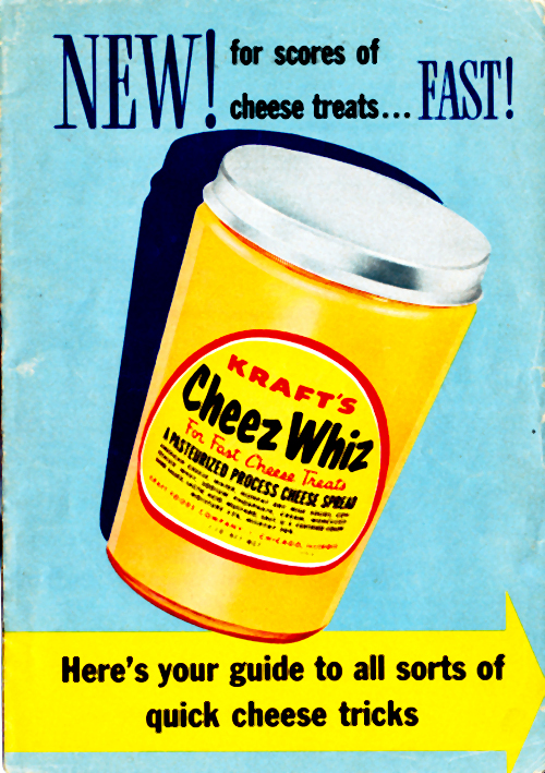 New! Cheez Whiz Front Cover
