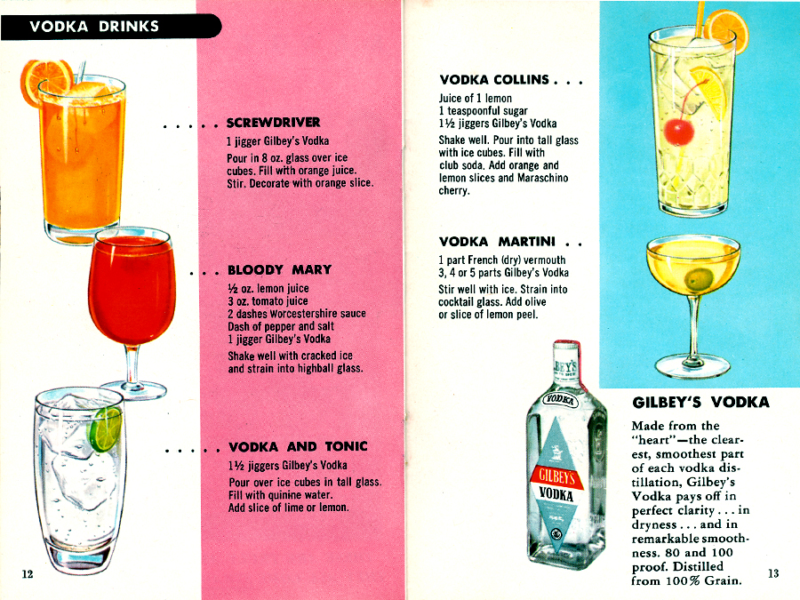 Fine cocktails made easy pages 12 13 out of 20 the for Easy vodka drink recipes