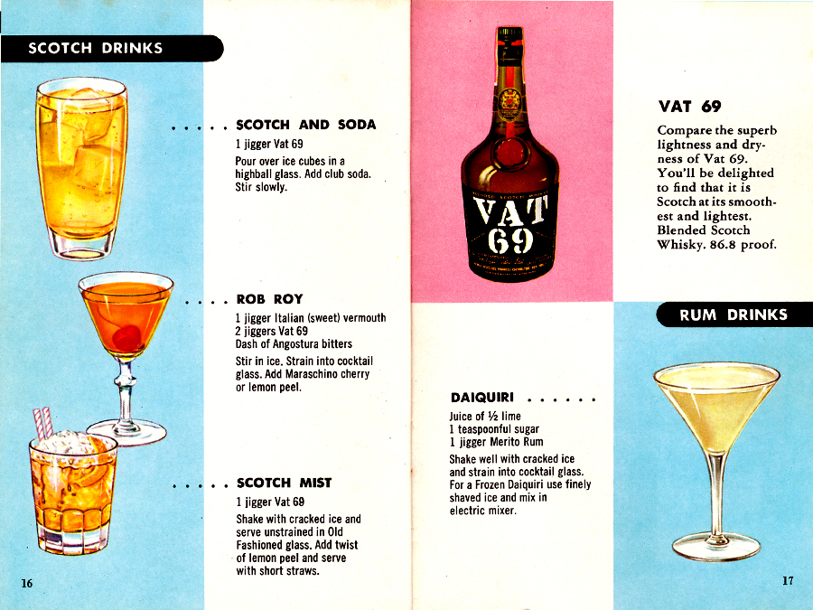 Fine Cocktails Made Easy Pages 16-17