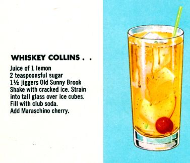 Whiskey Collins Recipe
