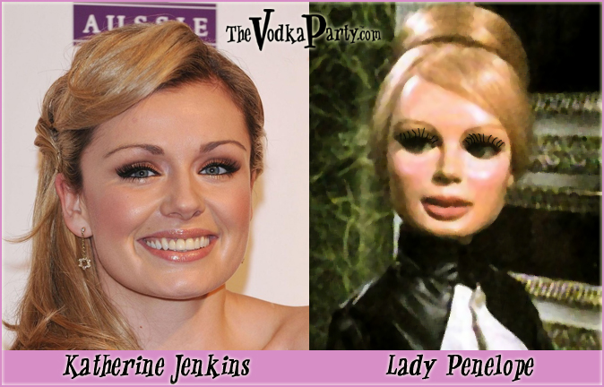 Lady Penelope & Katherine Jenkins - What the heck?