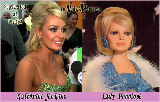 Katherine Jenkins & Lady Penelope - WTF is going on?