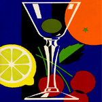 The art of the cocktail - mixing drinks in mid-century modern style with Fleischmann's
