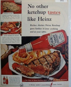 No other ketchup tastes like Heinz - 1960
