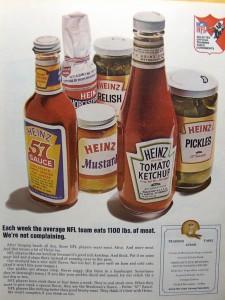 Heinz NFL Ad 1967