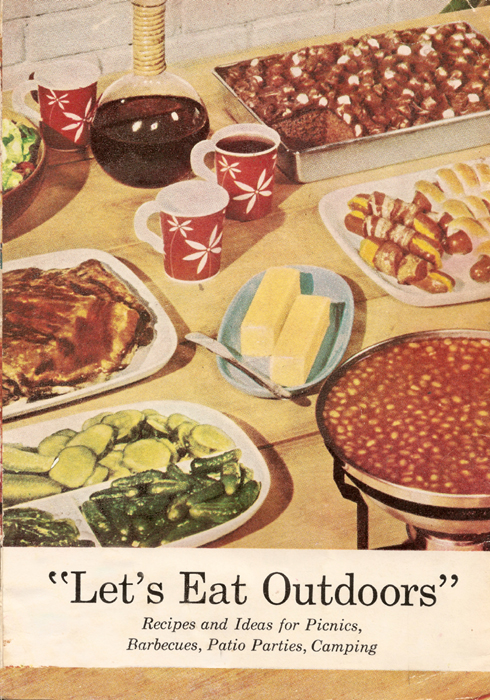 Let's Eat Outdoors Back Cover