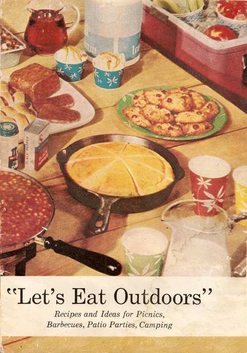 Let's Eat Outdoors Front Cover