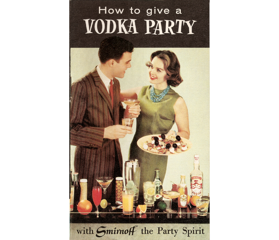 How To Give A Vodka Party Front Cover