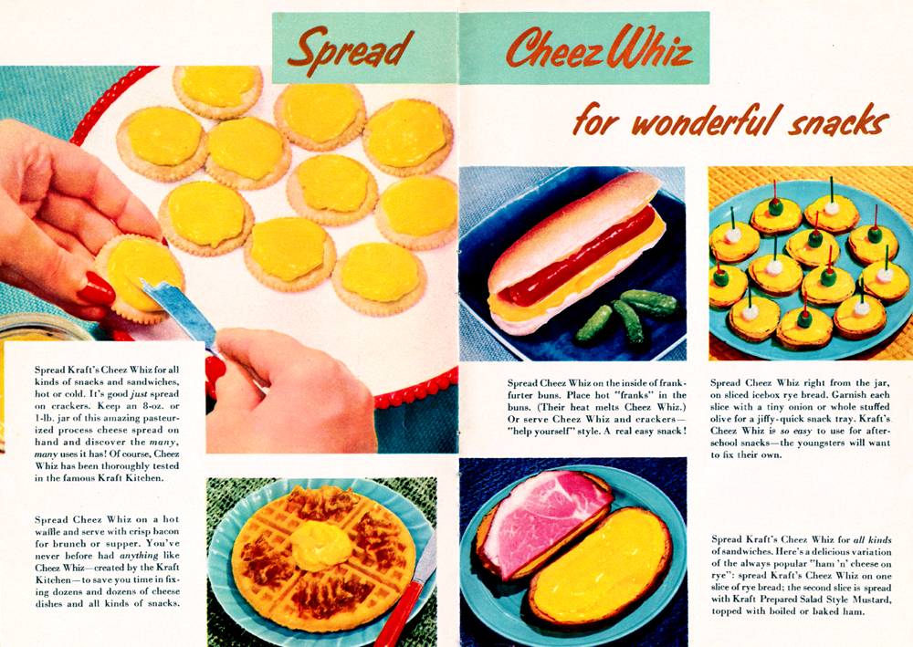 New! Cheez Whiz Pages 12-13