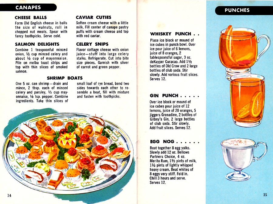 Fine Cocktails Made Easy Pages 14-15