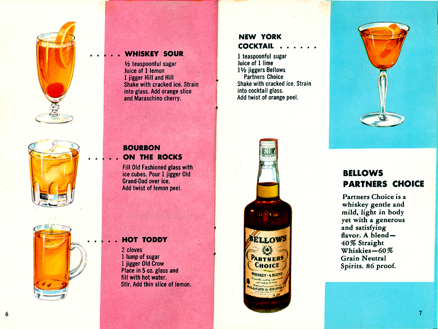 Fine Cocktails Made Easy Pages 6-7