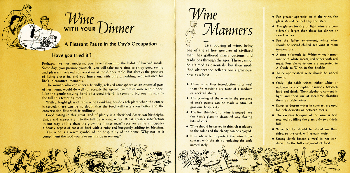 Wine Manners Pages 2-3