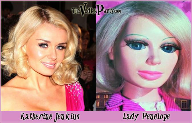 Lady Penelope & Katherine Jenkins - Huh?