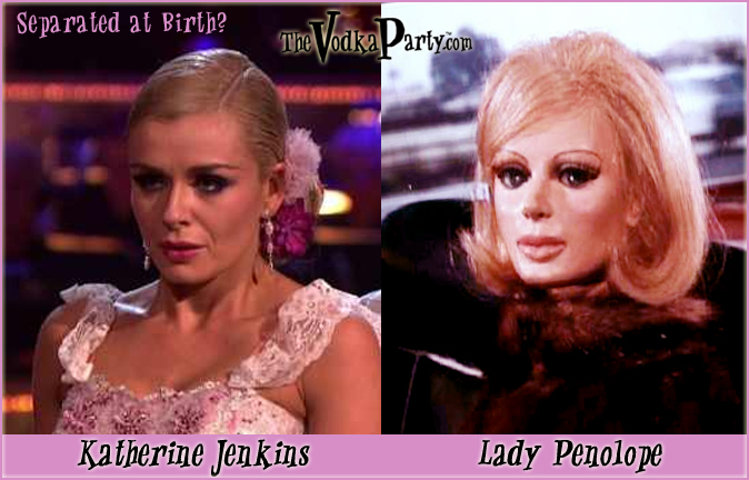 Lady Penelope & Katherine Jenkins - What is going in here?