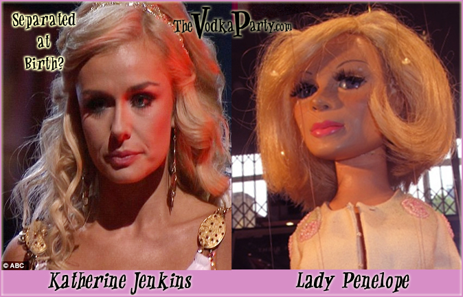 Katherine Jenkins / Lady Penelope - Are you sick of this yet?