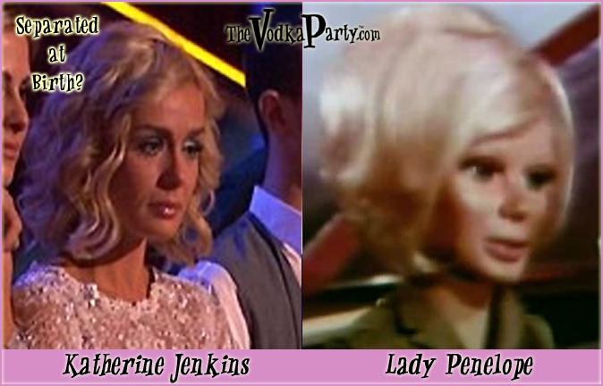 Katherine Jenkins Lady Penelope