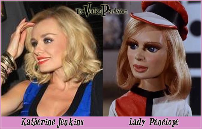 Lady Penelope & Katherine Jenkins - A real mystery.