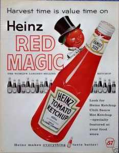 Heinz Red Magic - 1960