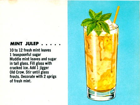 Mint Julep – From Fine Cocktails Made East (Early-50s)