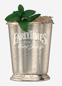 Early Times Mint Julep – From KentuckyDerby.com